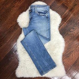 J.Crew Matchstick Jeans Vintage-inspired Wash 30